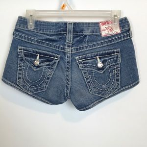 True Religion Shorts - True Religion Jean Shorts Size 26